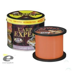 CARP EXPERT UV FLUO ORANGE 1000M FÉMDOBOZOS