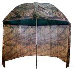 Terepszínú sátras PVC horgászernyő 250cm/camou