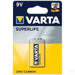 Varta Superlife féltartós 9V elem - (1 db)